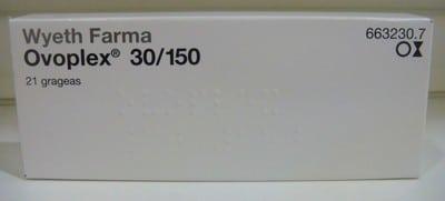 Anticonceptivas Ovoplex 30/150