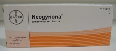Anticonceptivas Neogynona