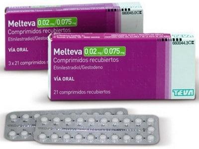 Anticonceptivas Melteva
