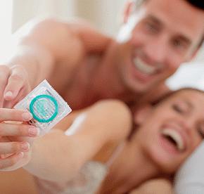 preservativo en la pareja