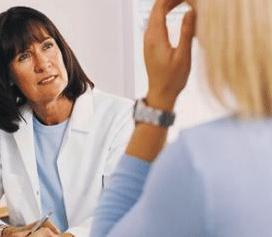 control médico en la mujer